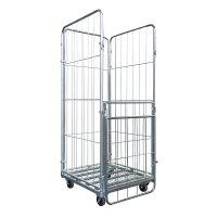 Metalowy wózek transportowy dolly 800x600x150mm dystrybucyjny